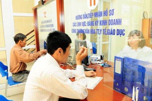Danh mục mới về thủ tục đầu tư và đăng ký kinh doanh được thực hiện qua bưu điện