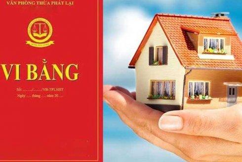 Rủi ro từ việc chuyển nhượng bất động sản qua hình thức lập vi bằng